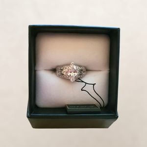 AAA Cubic Zirconia Sterling Silver Ring